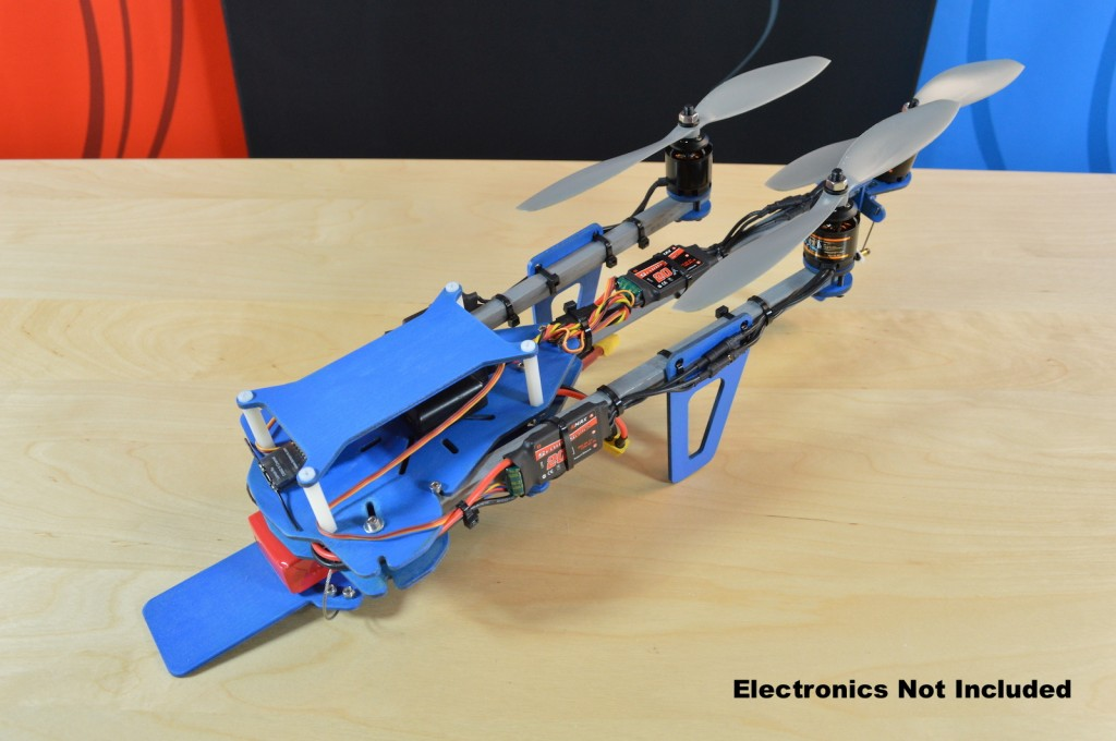 Tricopter Folded
